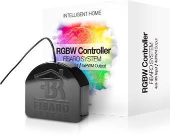 Z-Wave модуль RGB для светодиодной ленты Fibaro RGBW