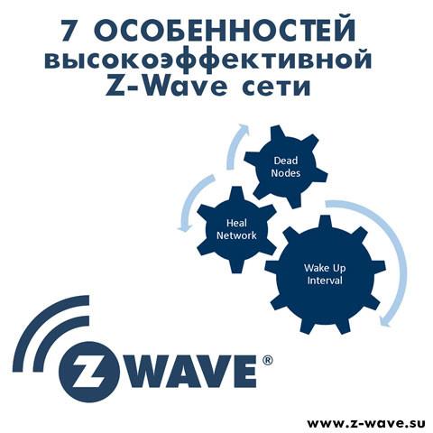7 особенностей высокоэффективной Z-Wave сети